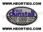 Paul Dunstall Suzuki GS 1000 CS Tank and Fairing Transfer Decal DDUN11-4